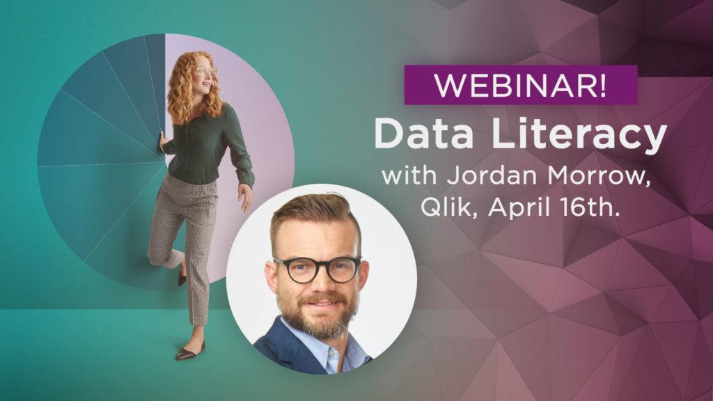 Webinar: Data Literacy crash course with Qlik's Jordan Morrow