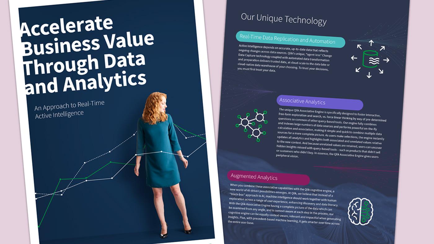 Climber Qlik Accelerate Business Value through Data and Analytics
