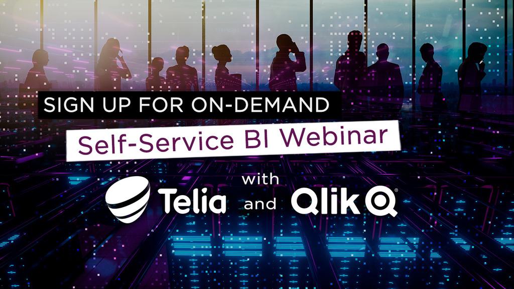 Webinar: 4 keys to succeed with self-service BI in Qlik