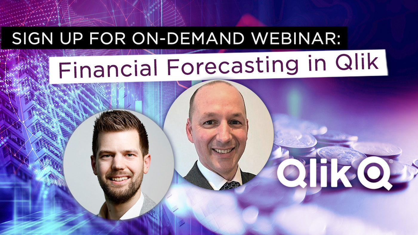Webinar: Sharpen up your Financial Planning with Forecasting in Qlik