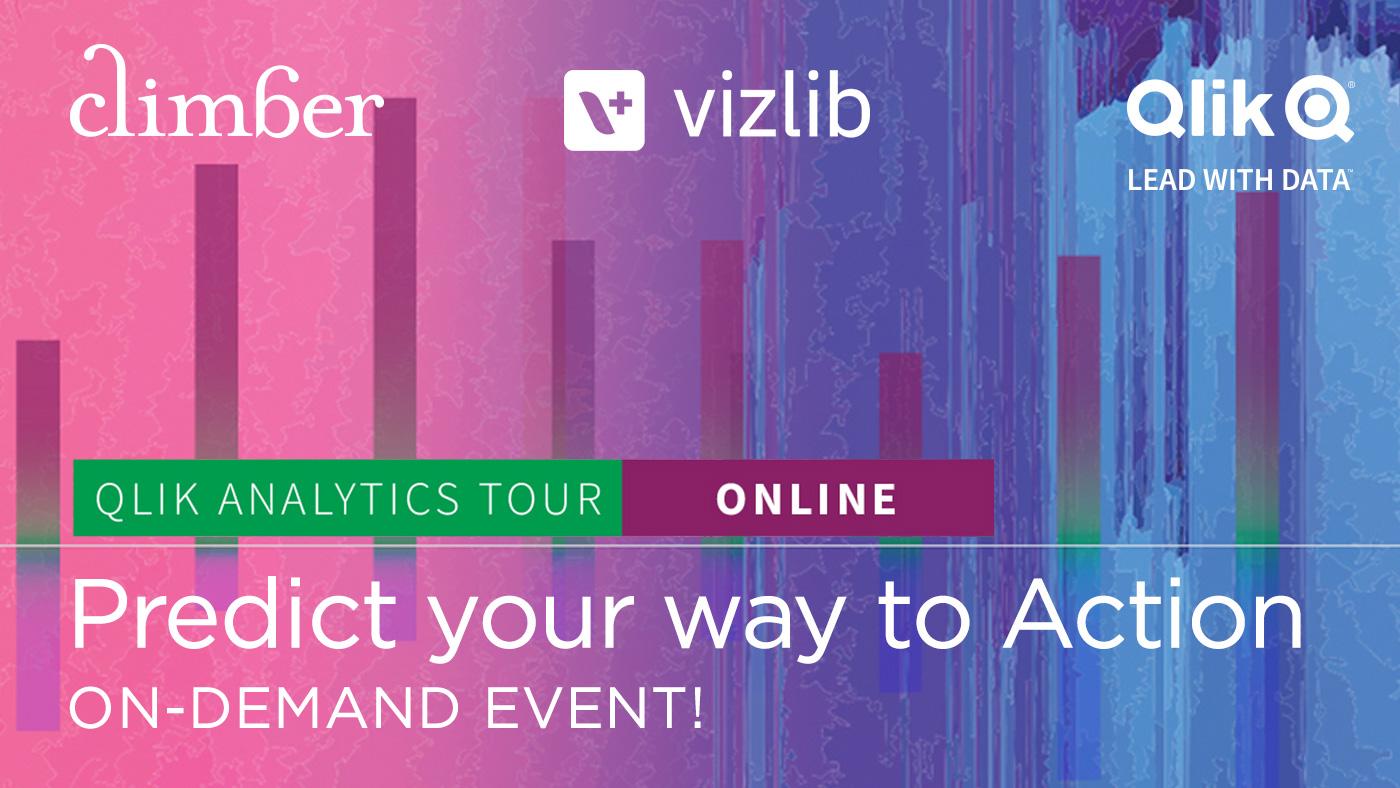 Qlik Analytics Tour International with Climber On-demand