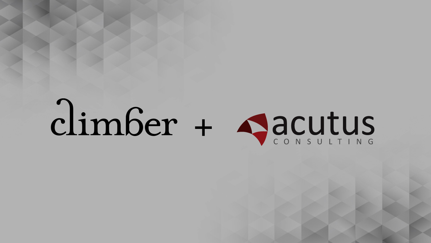 Acutus Consulting Merges with Climber BI